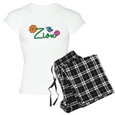 Zion Flowers Pajamas