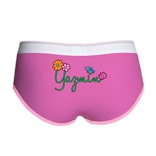 Yazmin Flowers Women's Boy Brief