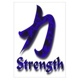 Strength in English/Kanji Blu