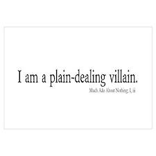 plain-dealing villain