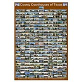 County Courthouses of Texas Large Brown