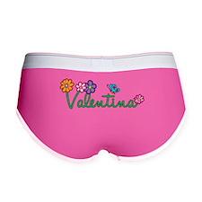 Valentina Flowers Women's Boy Brief