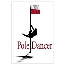 Cute Pole dancer Wall Art