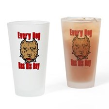 Every Dog Has His Day Scarface Drinking Glass