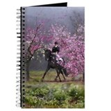 Spring Half Pass Dressage Horse Journal