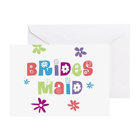 Happy Bridesmaids Greeting Card