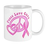 Peace Love Cure Mug