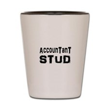 Funny Accounting Shot Glass