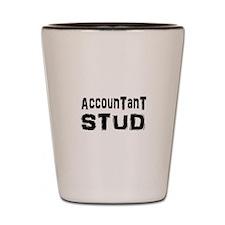 Cute Accounting Shot Glass