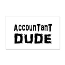 Cute Funny accounting Car Magnet 20 x 12