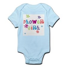Happy Flowergirl Infant Bodysuit