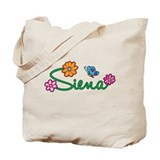 Siena Flowers Tote Bag