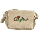 Shyanne Flowers Messenger Bag