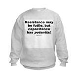 Resistance may be futile -  Sweatshirt