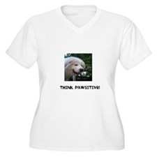 Think Pawsitive! T-Shirt