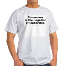 Consensus Leadership -  Ash Grey T-Shirt
