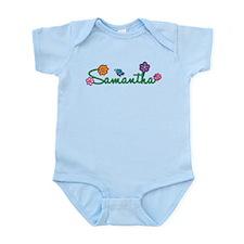 Samantha Flowers Infant Bodysuit