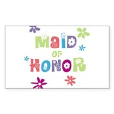 Happy Maid of Honor Decal