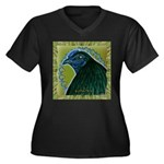 Framed Sumatra Rooster Women's Plus Size V-Neck Da