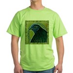 Framed Sumatra Rooster Green T-Shirt