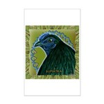 Framed Sumatra Rooster Mini Poster Print