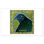 Framed Sumatra Rooster Large Poster