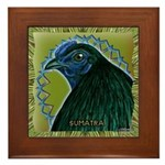 Framed Sumatra Rooster Framed Tile