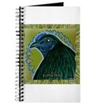 Framed Sumatra Rooster Journal