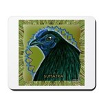 Framed Sumatra Rooster Mousepad