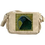 Framed Sumatra Rooster Messenger Bag