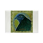 Framed Sumatra Rooster Rectangle Magnet (10 pack)