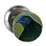 "Framed Sumatra Rooster 2.25"" Button (10 pack)"