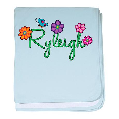 Ryleigh Flowers baby blanket