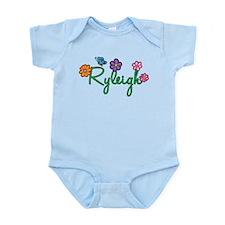 Ryleigh Flowers Onesie