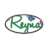 Reyna Flowers Patches