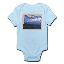 Cute Oregon usa Infant Bodysuit