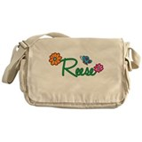 Reese Flowers Messenger Bag