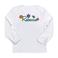 Rebecca Flowers Long Sleeve Infant T-Shirt