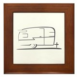 Airstream Silhouette Framed Tile