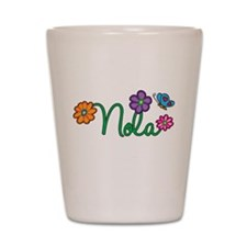 Nola Flowers Shot Glass
