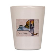 Cute New york state Shot Glass