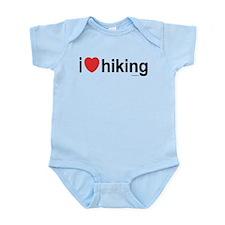 I Love Hiking Infant Bodysuit
