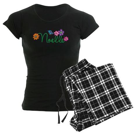 Noelle Flowers Women's Dark Pajamas