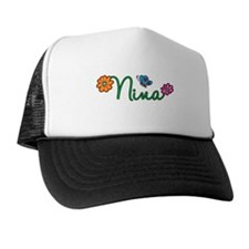 Nina Flowers Trucker Hat