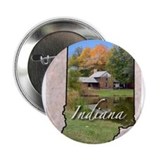"Unique Indiana 2.25"" Button"
