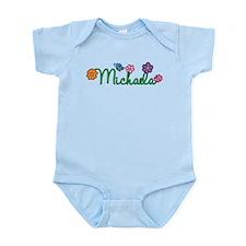 Michaela Flowers Infant Bodysuit