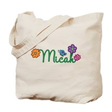 Micah Flowers Tote Bag