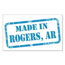 MADE IN ROGERS Decal