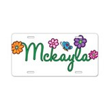 Mckayla Flowers Aluminum License Plate