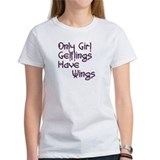 Tee gelfling fairy wings dark crystal